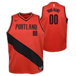 """Portland Trail Blazers Nike Statement Swingman Jersey – Custom – Youth"""