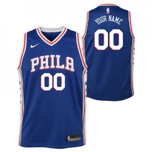 """Philadelphia 76ers Nike Icon Swingman Jersey – Custom – Youth"""