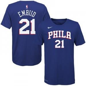 """Philadelphia 76ers Nike Joel Embiid Icon Name & Number T-Shirt – Youth"""