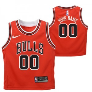 """Chicago Bulls Nike Icon Replica Jersey – Custom – Toddler"""