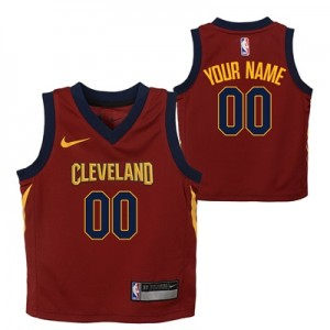 """Cleveland Cavaliers Nike Icon Replica Jersey – Custom – Toddler"""