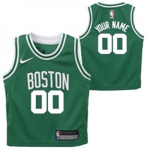 """Boston Celtics Nike Icon Replica Jersey – Custom – Toddler"""