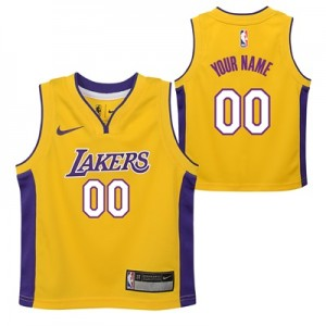 """Los Angeles Lakers Nike Icon Replica Jersey – Custom – Toddler"""