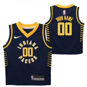 """Indiana Pacers Nike Icon Replica Jersey – Custom – Infant"""