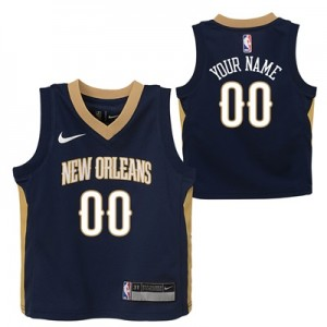 """New Orleans Pelicans Nike Icon Replica Jersey – Custom – Kids"""