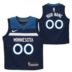 """Minnesota Timberwolves Nike Icon Replica Jersey – Custom – Kids"""