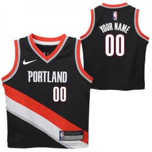 """Portland Trail Blazers Nike Icon Replica Jersey – Custom – Kids"""