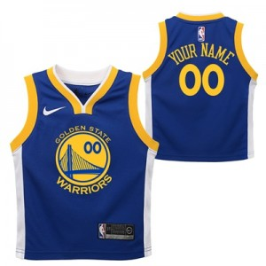 """Golden State Warriors Nike Icon Replica Jersey – Custom – Toddler"""
