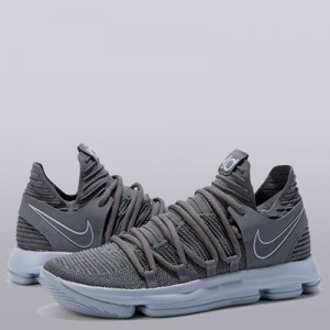 """Nike Nike Zoom KD10 Basketball Shoe – Dark Grey/Reflect Silver – Mens"""
