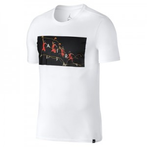 """Jordan Flight Photo T-Shirt – White – Mens"""