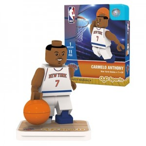 """New York Knicks Carmelo Anthony Minifigure"""