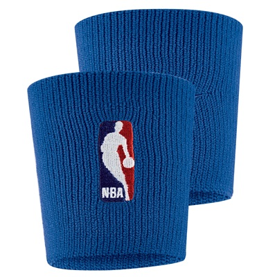 """Nike NBA Wristband – Rush Blue/Rush Blue"""