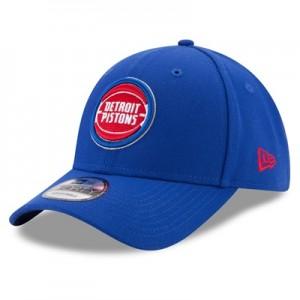 """Detroit Pistons New Era The League 9FORTY Adjustable Cap"""