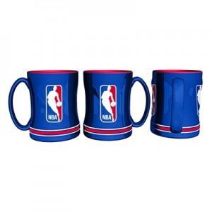 """NBA Logoman 14oz Relief Mug"""