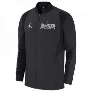 """NBA All-Star 2018 Jordan Black On-Court Jacket – Mens"""