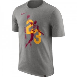 """Cleveland Cavaliers Nike LeBron James Photo Print Player T-Shirt – Men"""