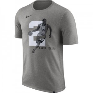 """San Antonio Spurs Nike Kawhi Leonard Photo Print Player T-Shirt – Mens"""