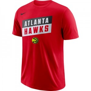 """Atlanta Hawks Nike Stock Team T-Shirt – Mens"""