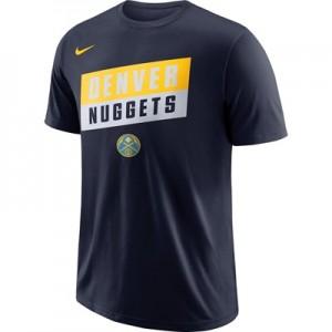 """Denver Nuggets Nike Stock Team T-Shirt – Mens"""