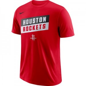 """Houston Rockets Nike Stock Team T-Shirt – Mens"""