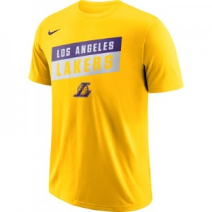 """Los Angeles Lakers Nike Stock Team T-Shirt – Mens"""