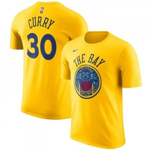 """""""Golden State Warriors Nike Stephen Curry City Name & Number T-Shirt – """""""