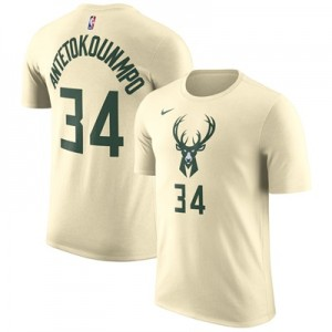 """Milwaukee Bucks Nike Giannis Antetokounmpo City Name & Number T-Shirt """