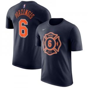 """New York Knicks Nike Kristaps Porzingis City Name & Number T-Shirt – M"""