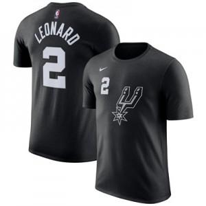 """San Antonio Spurs Nike Kawhi Leonard City Name & Number T-Shirt – Mens"""
