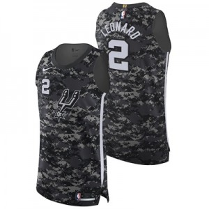 """San Antonio Spurs Nike City Authentic Jersey – Kawhi Leonard – Mens"""