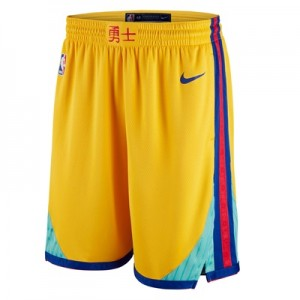 """Golden State Warriors Nike City Swingman Shorts – Mens"""