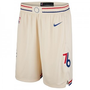 """Philadelphia 76ers Nike City Swingman Shorts – Mens"""
