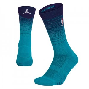 """Charlotte Hornets Jordan City On-Court Crew Sock – Mens"""