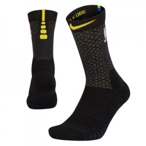 """Los Angeles Lakers Nike City On-Court Crew Sock – Mens"""