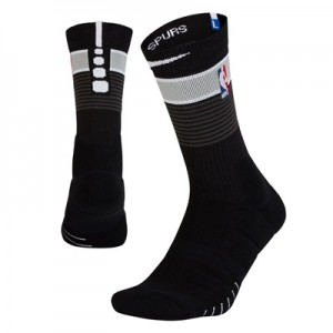 """San Antonio Spurs Nike City On-Court Crew Sock – Mens"""