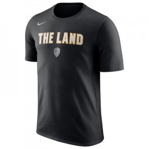 """Cleveland Cavaliers Nike City Verbiage T-Shirt – Mens"""