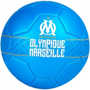 Olympique de Marseille Metallic Football – Size 5