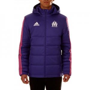 Olympique de Marseille Cup Winter Jacket – Purple