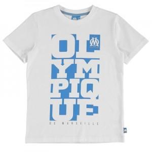 Olympique de Marseille Graphic T-Shirt – White – Boys