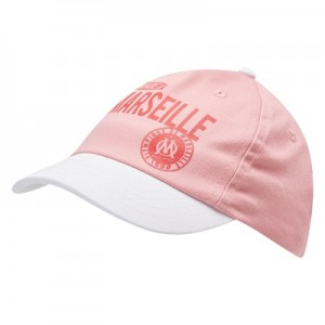 Olympique de Marseille Made In Marseille Cap – Pink – Baby Girls