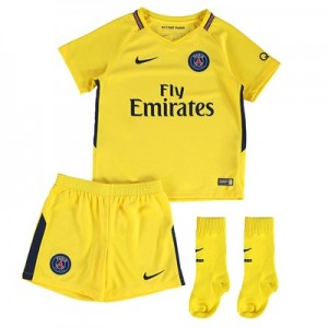 Paris Saint-Germain Away Stadium Kit 2017-18 – Infants