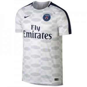 Paris Saint-Germain Squad Pre Match Top – White