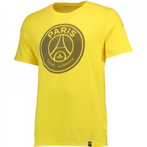 Paris Saint-Germain Crest T-Shirt – Yellow