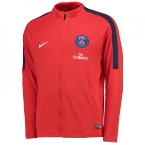 Paris Saint-Germain Strike Aeroswift Track Jacket – Red