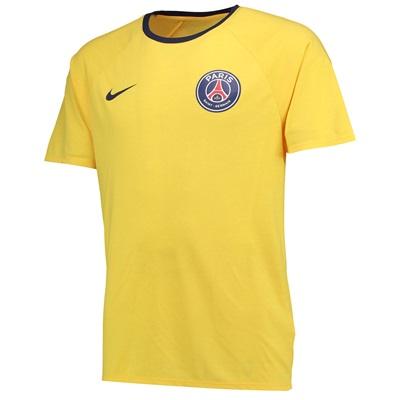 Paris Saint-Germain Match T-Shirt – Yellow