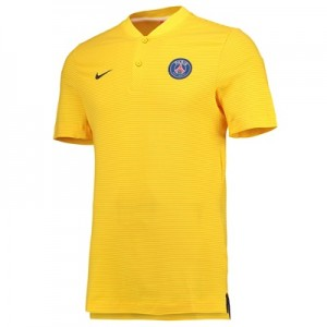 Paris Saint-Germain Authentic Grand Slam Polo – Yellow