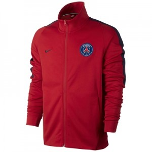 Paris Saint-Germain Authentic Franchise Jacket – Red