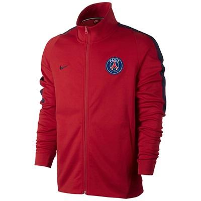 Paris Saint-Germain Authentic Franchise Jacket – Red