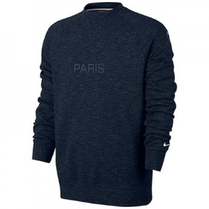 Paris Saint-Germain Authentic Crew Sweatshirt – Dk Blue