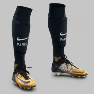 Paris Saint-Germain Third Vapor Match Socks 2017-18